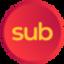 _SUB price logo