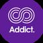 ADDICT price logo