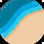 BEACH price logo