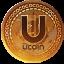 UCOIN price logo