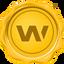 WAXP price logo