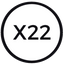 X22 price logo