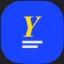 YELD price logo